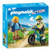 Playmobil 9129 Wandelaar en Mountainbiker
