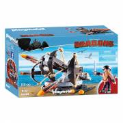 Playmobil Dragons 9249 Eret met Viervoudige Ballista