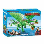 Playmobil Dragons 9458 Morrie & Schorrie met Burp & Braak