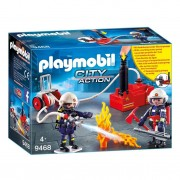 Playmobil 9468 Brandweerteam met Waterpomp