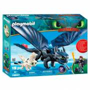 Playmobil Dragons 70037 Tandloos en Hikkie Speelset