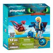 Playmobil Dragons 70041 Astrid in Vliegpak en Schrokop