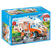 Playmobil 70049 Ambulance en Ambulanciers