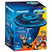 Playmobil the Movie 70070 Rex Dasher met Parachute