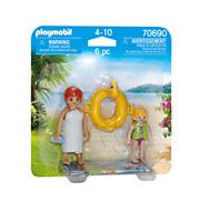Playmobil 70690 DuoPack Waterpark Badgasten