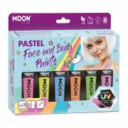 Face & Body Paint Schminkset - Pastel Neon