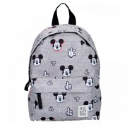 Rugzak Mickey Mouse Little Friends Grijs