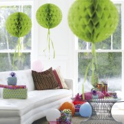 Honeycomb Bal - Lime Groen