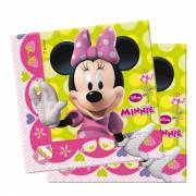 Servetten Minnie Mouse, 20st.