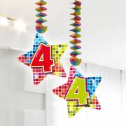 Hangdecoratie Blocks 4