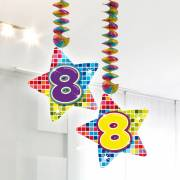 Hangdecoratie Blocks 8