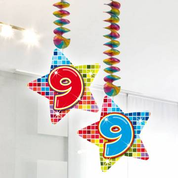 Hangdecoratie Blocks 9