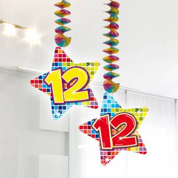 Hangdecoratie Blocks 12