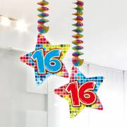 Hangdecoratie Blocks 16