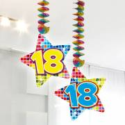 Hangdecoratie Blocks 18