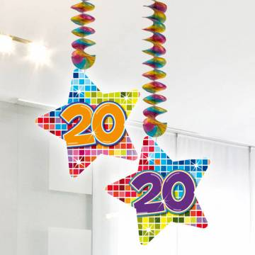 Hangdecoratie Blocks 20