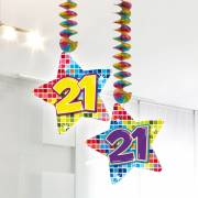 Hangdecoratie Blocks 21