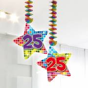 Hangdecoratie Blocks 25