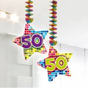 Hangdecoratie Blocks 50