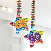 Hangdecoratie Blocks 60