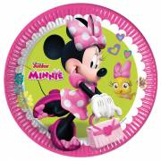 Minnie Mouse Bordjes, 8st.
