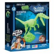 Geoworld Glow in the Dark Bouwset - Velociraptor