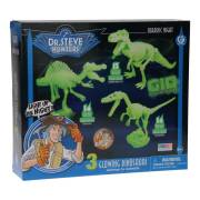 Geoworld Jurassic Night Bouwset - Glow in the Dark Dino's
