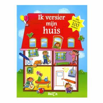 Stickerboek ik versier mijn huis online kopen - Versier het huis ...