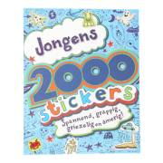 Stickerboek Jongens, 2000 stickers