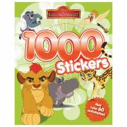De Leeuwenwacht Stickerboek, 1000 stickers