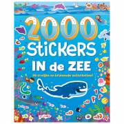 Stickerboek In de Zee, 2000 stickers