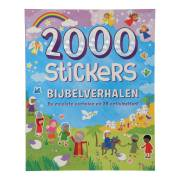 Stickerboek Bijbelverhalen, 2000 stickers