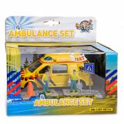 Die Cast Pull Back Ambulance