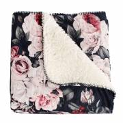 Plaid Holly met Bloemen Patroon