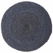 Ib Laursen Placemat Rond Dusty Blue Jute