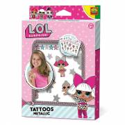 SES L.O.L. Metallic Tattoos