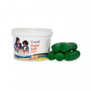 Creall Supersoft klei Groen, 1750gr.