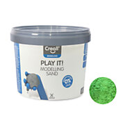 Creall Play It Speelzand Groen, 750gr.