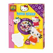 SES Hello Kitty Strijkkralen + Bordje
