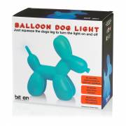 Bitten, Balloon Dog Lamp Blauw