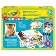Crayola Mini Kids - Kleur- en Stickerset