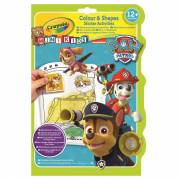 Crayola Mini Kids - Kleur- en Stickerboek Paw Patrol