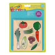 Crayola Mini Kids - Stickers Fruit en Groente