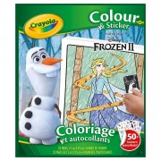 Crayola Frozen 2 Kleur- en Stickerboek