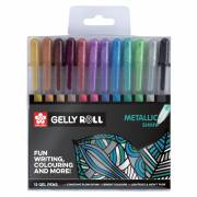 Sakura Gelly Rolls Metallic, 12st.