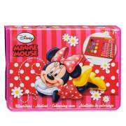 Minnie Mouse Kleurkoffer, 24dlg.