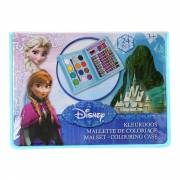 Disney Frozen Mini Kleurkoffer, 24dlg.