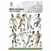 Muurstickers Real Madrid 16 Spelers