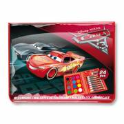 Cars 3 Mini Kleurkoffer, 24dlg