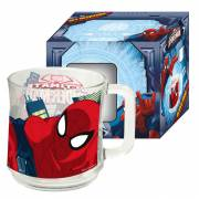 Glazen Mok in Giftbox - Spiderman